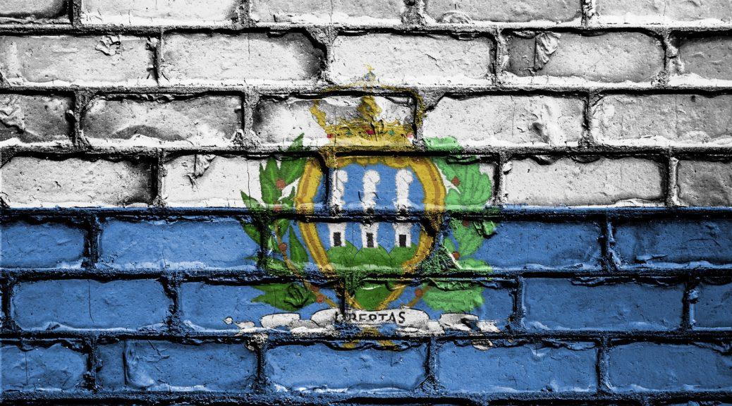 Wo liegt San Marino